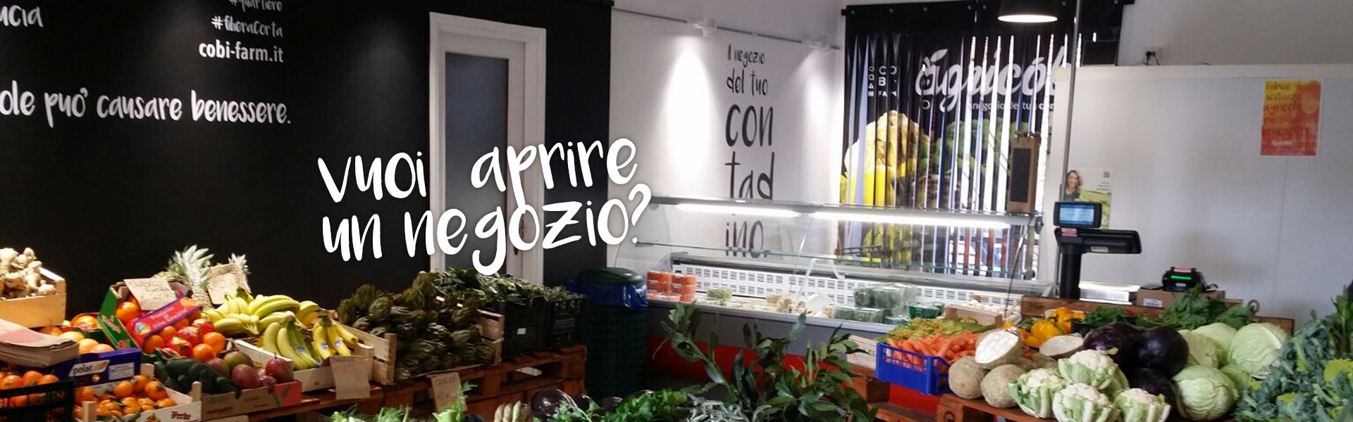 aprire un agricobi in franchising