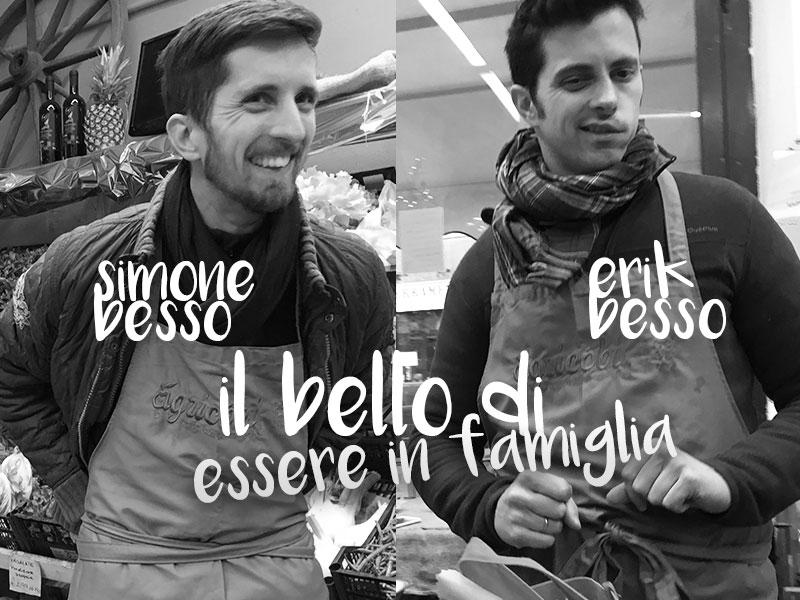 Erik Besso e Simone besso, azienda agricola Erik Besso